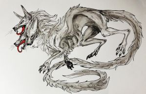 White Cerberus by DittoMay