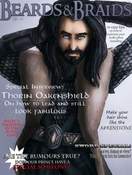 Beards and Braids: Thorin Oakenshield by AlbinoNial