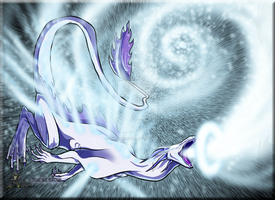 The White Hole Dragon by TwilightSaint