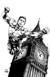 topcowproductions explore topcowproductions on deviantart The Darkness Symbol bryanvalenza 17 captain britain cover inked by dontborninink