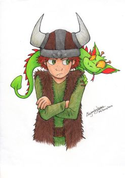 Hiccup and Toothless [Book version] by aleprettycat