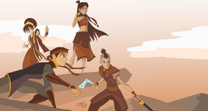 Fire Nation, Are We There Yet? by digital-vox