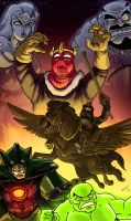 MASTERS OF EVIL 2009 by DadaHyena