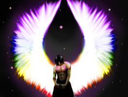 Prideful Angel by goldeneagle