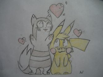 For Bestary and YELLOW35 by Storm-Y-Heart
