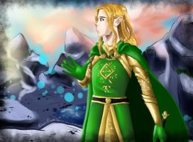 Glorfindel of Gondolin by Rina-from-Shire