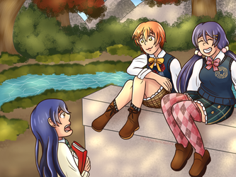Lily White - Autumn by TheApatheticKat