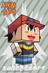 Ash Ketchum-Satoshi template by ADRIAN-NATION