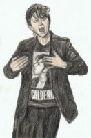 Jo Calderone wearing a Jo Calderone shirt by gagambo