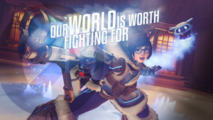 Overwatch - Everyone is cool with Mei by PT-Desu