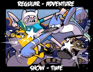 REGULAR ADVENTURE / SHOW TIME by dadicus