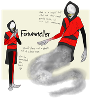 [Crimson Circus] Fortuneteller by ChesterPalm