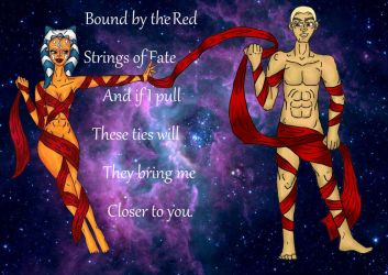 Red Ties of Fate Rexsoka by jennamimi
