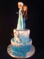 Frozen cake by laylah22