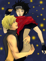 hulkling x wiccan by Siyome
