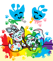 Painting Party by ZIM402