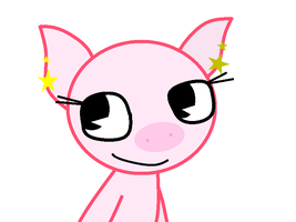 Poppy The Pig by theshadowpony357