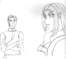 More Character Sketches by sindra