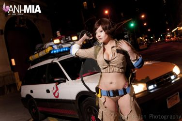 Ghostbusters - Lucy by Ani-Mia