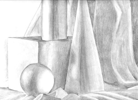 Pencil Shapes by SaraSchool