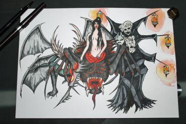 The next Three Bosses by Held-Frakkle