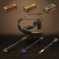 BioShock Infinite Burial at Sea 2 Crossbow Pack by ArmachamCorp