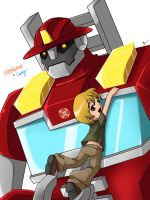 TFRB: Heatwave and Cody by Evelynism