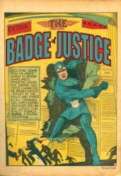 The Badge of Justice by LegacyHeroComics