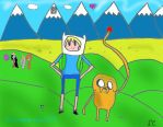 What time is it? ADVENTURE TIME!!!!!! by Cookieteller