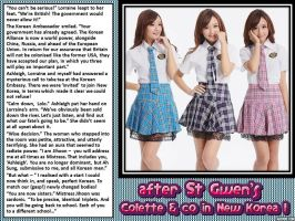 after St Gwen's: Colette and Co in New Korea 1 by p-l-richards