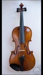 Violin on White Background by steeber