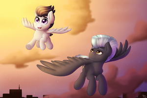 Brother's Flight by Spirit-Dude