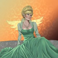 Elf Queen by Miserie by carol-colors