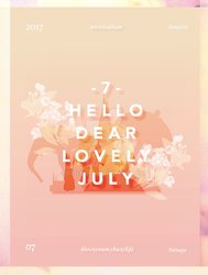 / Bye busy July / #1 by rosekaihan