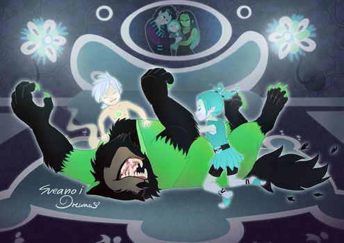 DoaS: Ghostsitter (Collab with Sueanoi) by DreamaDove93