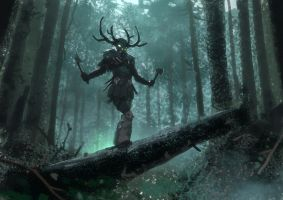Forest Spirit by Hideyoshi