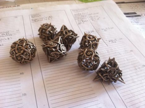 Dice...from hell. by Tleilaxeu