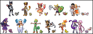 Pokemon Trainers: D O S.