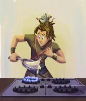 KH - Cooking Lessons by LynxGriffin