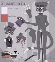 Steamtrain Character Reference by Clockwork-Shadow