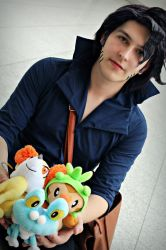 Professor Sycamore Cosplay by TheManOfManyFaces