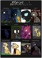 2017 Summary of Art by Imnotgivingup