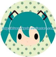 funny face pin miku by BlueValkyrie