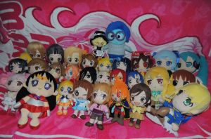 My Plush Collection by HannahDoma