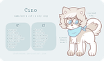 Cino - Reference Sheet by obakesama
