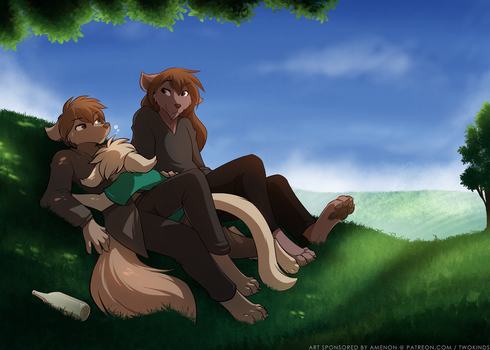 The Wrong Kiss (Part II) by Twokinds