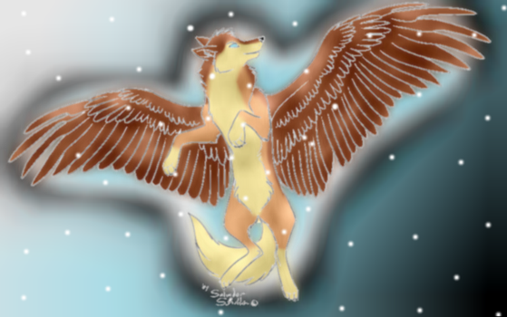 Wings the wolf by TOBOEANDHIGE