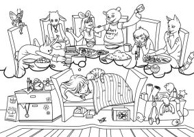 Coloring Book 2011 by JessicaKKowton
