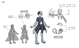 GYM LEADER 5 - Heroes's Brother - Armand (F Type) by AliodaDraws