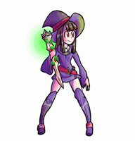 Akko Animation by CorrsollaRobot